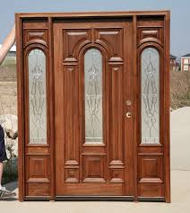 Solid Mahogany Exterior Doors Exterior Solid Mahogany Door Early American Stain Color