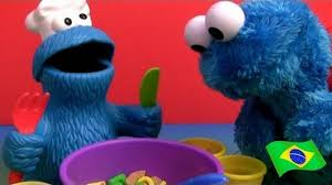 monstro de biscoito play doh cookie monster play doh almoço sopa