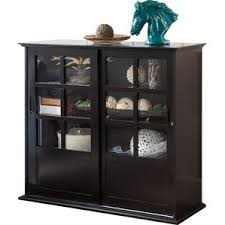 Glass Display Cabinet For Cafe Display Cabinets You U0027ll Love Wayfair