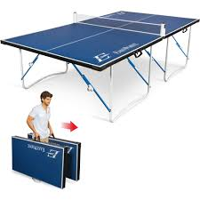 Ping Pong Table Tennis Folding Tournament Size Indoor Outdoor Sport