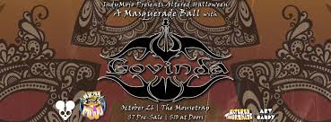altered halloween masquerade ball w govinda u2013 thursday october