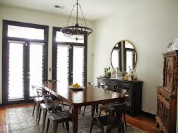 industrial dining room tables photos chic open dining room with industrial table chairs hotel