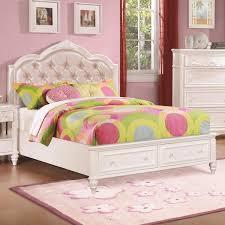 youth full bedroom sets caroline twin full size bed w diamond tufted headboard empire