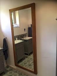 Bathroom Mirror With Hidden Storage by Secret Door The Wooden Workshop Oakford Devon