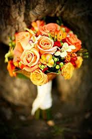 Wedding Flowers Fall Colors - 41 best rust orange fall wedding flowers images on pinterest