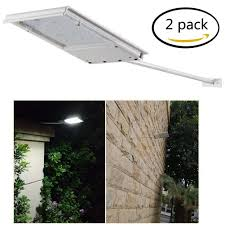 Solar Patio Lights Amazon by Fami Waterproof Solar Powered Led Light Wall Light Security