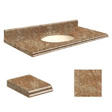 shop transolid india gold granite undermount single sink bathroom