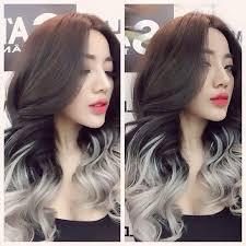 silver brown hair dark brown hair with silver ends hairstyles pinterest dark