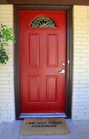 front doors awesome front door red paint color best red paint