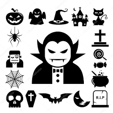 icon halloween halloween icon set u2014 stock vector kanate 32792199