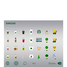 Couch Emoji by Starbucks Gets Emoji Makeover With New Keyboard App Sfgate