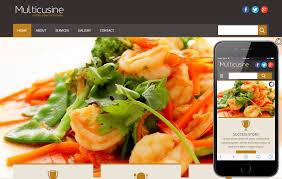 multi cuisine multicuisine a restaurant mobile website template by w3layouts