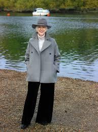 how i wear my cosy pea coat