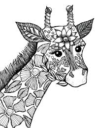 giraffe coloring book page drawings i u0027ve made pinterest