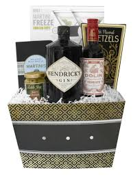 martini gift basket build a basket hendrick s gin martini gift set