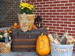 Outdoor Fall Decorating Ideas for Front Door