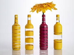 silver wine bottles best 25 spray painted bottles ideas on paint bottles