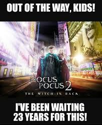 Hocus Pocus Meme - fact check hocus pocus 2 is in production