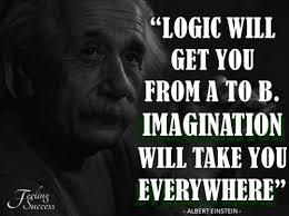 einstein spr che einstein quote on imagination and logic ashik s favorites