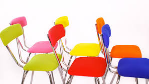 chaises cuisine couleur chaise de couleur idées décoration intérieure
