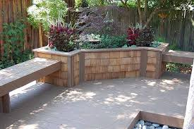 Bench Built Into Wall M U0026m Builders Retaining Wall Planter Box Fountain And Storage