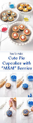 how to make pie cupcakes that look real pies thanksgiving and