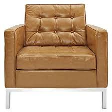 tan leather chair amazon com