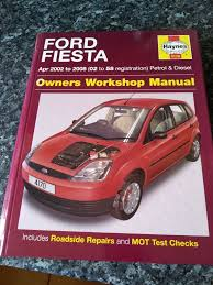 haynes owners manual ford fiesta 2002 2008 02 to 58 reg in