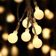 amazon com luckled fairy globe christmas string lights 100 led