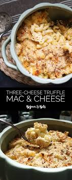 three cheese brown butter truffle mac and cheese bijoux bits