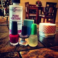yours truly at home gel manicure