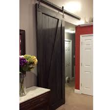 Onyx Shower Doors by Custom Made Sliding Barn Door Z Design Onyx