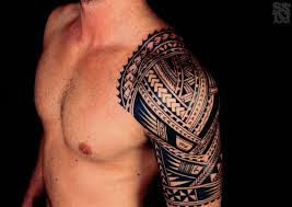 tribal shoulder tattoo 41 img pic bodyart