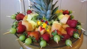 Pineapple Decoration Ideas Simple Fruit Salad Decoration Ideas Youtube