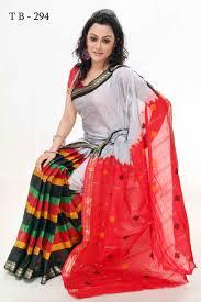dhakai jamdani saree online moslin cotton sarees k294 buy bangladeshi saree online buy