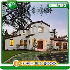 buy villa house plans luxury steel prefabricated prefab house