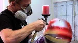 motocross helmet painting brett king design custom helmet painter youtube