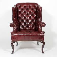 Leather Wingback Chair With Ottoman Design Ideas Fascinating Leather Chair Design Ideas Tempting Wingback