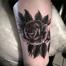 15 black rose tattoo meanings and designs inkdoneright