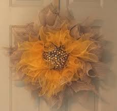 sunflower mesh wreath sparkle sunflower wreath mysite