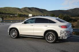 mercedes clothes mercedes gle 63 amg coupe spied in production ready clothes