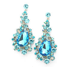 earrings for prom malibu blue jewelry