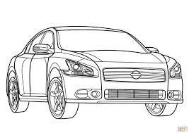 nissan skyline drawing nissan maxima coloring page free printable coloring pages