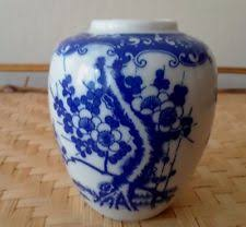 Ginger Jar Vase Blue And White Ginger Jar Ebay