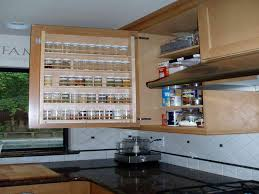 interesting kitchen cabinet pull out spice rack outstanding space