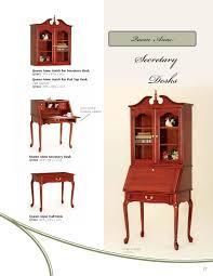 Queen Anne Secretary Desk by Office Furniture Simplebooklet Com