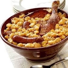 cuisiner un cassoulet cassoulet de saucisses et de haricots recette haricots recettes