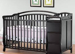 cribs awesome black crib with changing table awesome crib with
