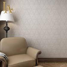 wallpaper dinding kamar vintage nonwoven vintage geometric plaid bata bertekstur wallpaper dinding