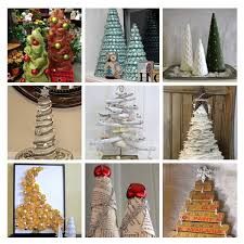 diy christmas trees from recycled materials networx